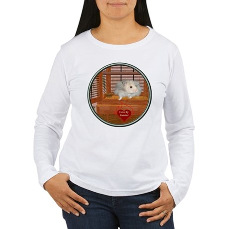 Hamster #3 Women's Long Sleeve T-Shirt
