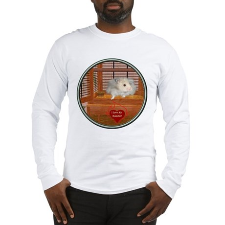 Hamster #3 Long Sleeve T-Shirt