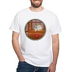 Hamster #3 White T-Shirt