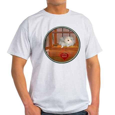Hamster #3 Light T-Shirt