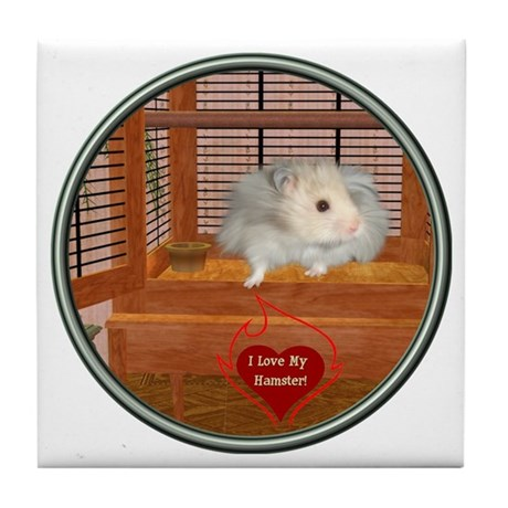 Hamster #3 Tile Coaster