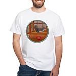 Squirrel White T-Shirt