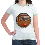 Squirrel Jr. Ringer T-Shirt