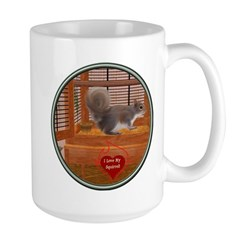 Squirrel Large Mug