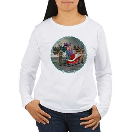 AKSC - Where's Santa? Women's Long Sleeve T-Shirt