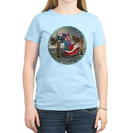 AKSC - Where's Santa? Women's Light T-Shirt