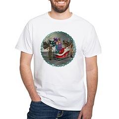 AKSC - Where's Santa? White T-Shirt