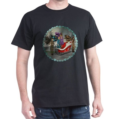 AKSC - Where's Santa? Dark T-Shirt