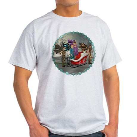 AKSC - Where's Santa? Light T-Shirt