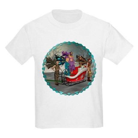 AKSC - Where's Santa? Kids Light T-Shirt