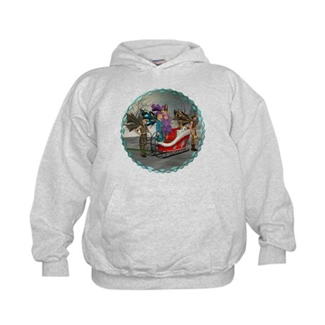AKSC - Where's Santa? Kids Hoodie