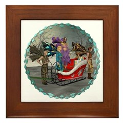 AKSC - Where's Santa? Framed Tile