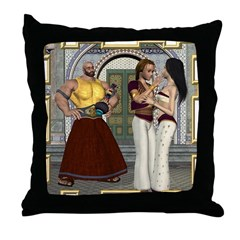 Aladdin Throw Pillow