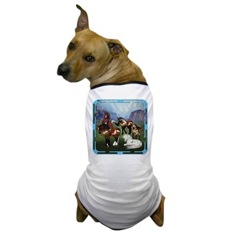 All the Pretty Little Horses Dog T-Shirt