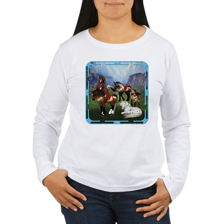 All the Pretty Little Horses Women's Long Sleeve T