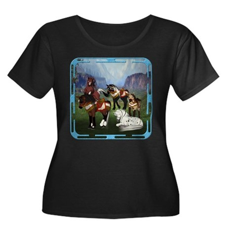 All the Pretty Little Horses Women's Plus Size Sco