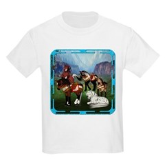 All the Pretty Little Horses Kids Light T-Shirt