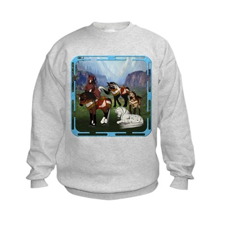 All the Pretty Little Horses Kids Sweatshirt