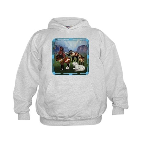 All the Pretty Little Horses Kids Hoodie