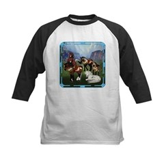 All the Pretty Little Horses Kids Baseball Jersey