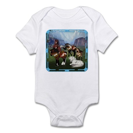 All the Pretty Little Horses Infant Bodysuit