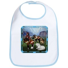 All the Pretty Little Horses Bib