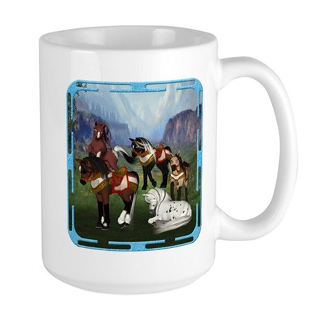 All the Pretty Little Horses Large Mug