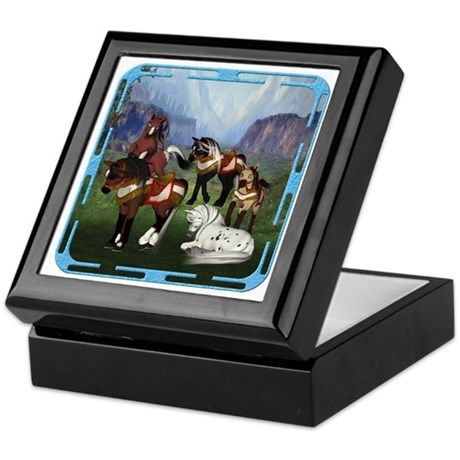 All the Pretty Little Horses Keepsake Box