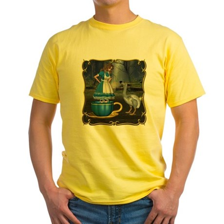 Alice in Wonderland Yellow T-Shirt