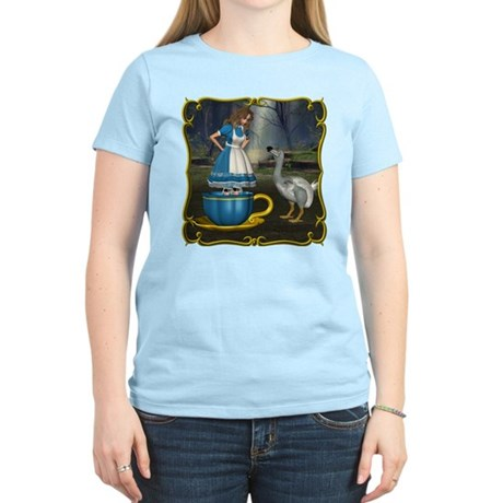 Alice in Wonderland Women's Light T-Shirt