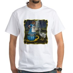 Alice in Wonderland White T-Shirt