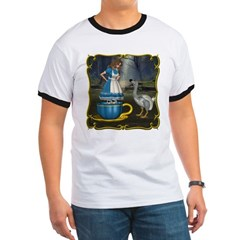 Alice in Wonderland Ringer T