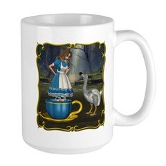 Alice in Wonderland Large Mug