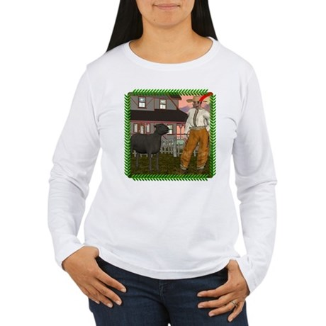 Black Sheep N Farmer Women's Long Sleeve T-Shirt