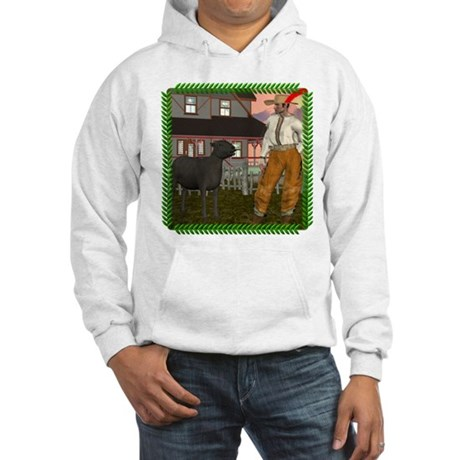 Black Sheep N Farmer Hooded Sweatshirt