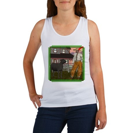 Black Sheep N Farmer Women's Tank Top