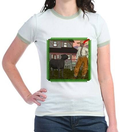 Black Sheep N Farmer Jr. Ringer T-Shirt