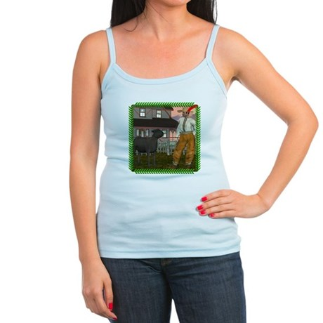 Black Sheep N Farmer Jr. Spaghetti Tank