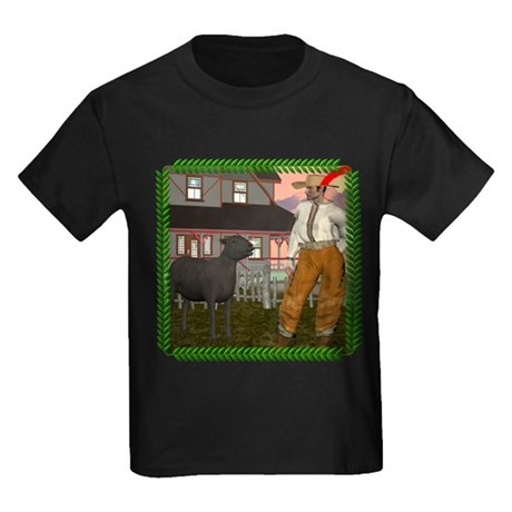 Black Sheep N Farmer Kids Dark T-Shirt