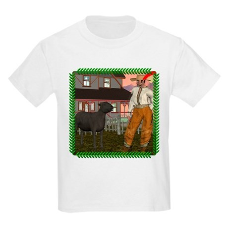 Black Sheep N Farmer Kids Light T-Shirt