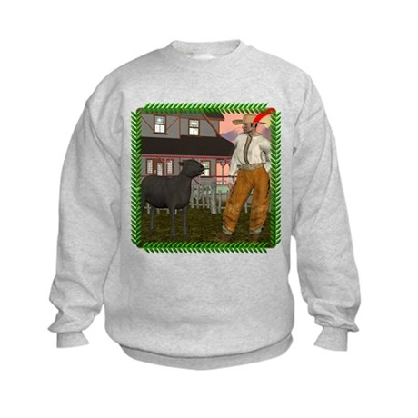 Black Sheep N Farmer Kids Sweatshirt