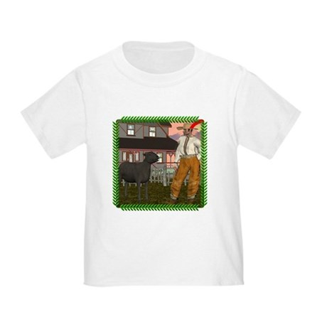 Black Sheep N Farmer Toddler T-Shirt