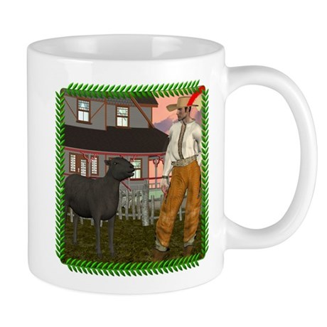 Black Sheep N Farmer Mug