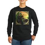 Black Sheep Thank You Long Sleeve Dark T-Shirt