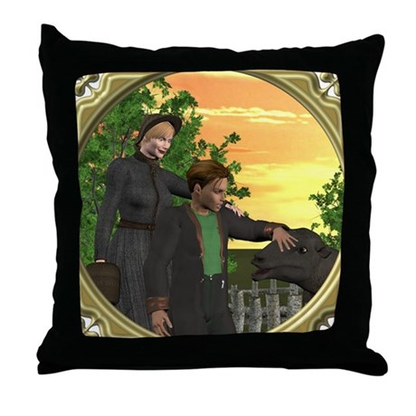 Black Sheep Thank You Throw Pillow