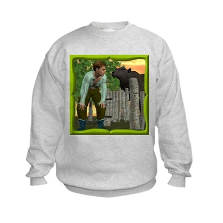 Black Sheep N Boy Kids Sweatshirt