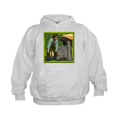 Black Sheep N Boy Kids Hoodie