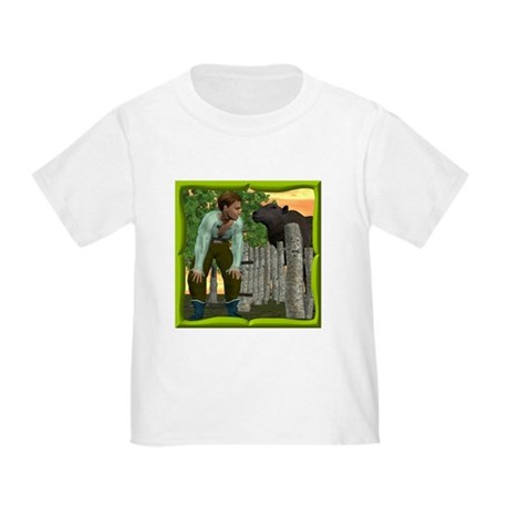 Black Sheep N Boy Toddler T-Shirt
