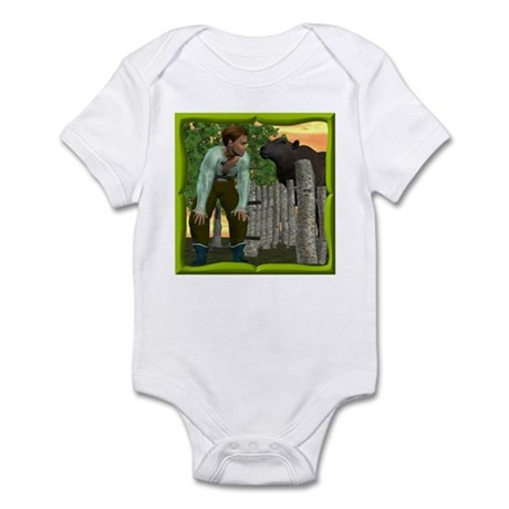 Black Sheep N Boy Infant Bodysuit
