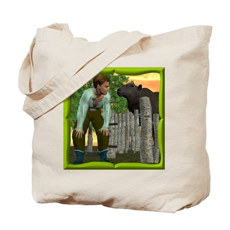 Black Sheep N Boy Tote Bag